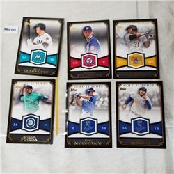 2012 Topps - MLB - Gold Futures (6 Cards)