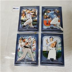 2011 Topps - MLB - Career (4 Cards)