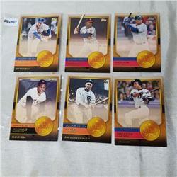 2012 Topps - MLB - Golden Greats (5 Cards)