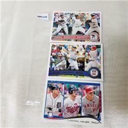 2014 Topps - MLB - Battling Leaders (3 Cards)
