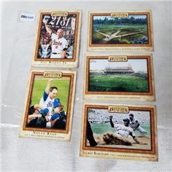 2010 Topps - MLB - History of the Game (5 Cards)