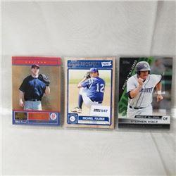 Baseball - Variety (3 Cards)