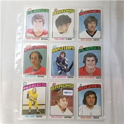 1976 O-Pee-Chee - NHL (54 Cards)