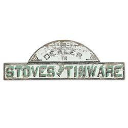 Fred Sehl Stoves & Tinware Sign