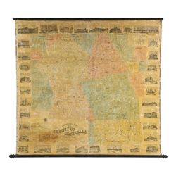 Large Wall Map, County of Waterloo