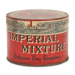 Hudson's Bay Co. Tobacco Tin