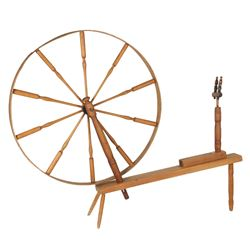 Impressive Walking, Spinning Wheel