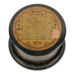 Mauchlineware Sewing Reel, Clark & Co.