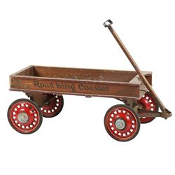 Road King Coaster Pull-Along Wagon