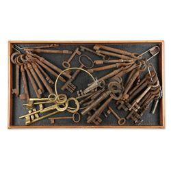 Various Large Skeleton Keys