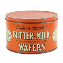 Smiles N' Chuckles Wafers Tin Kitchener