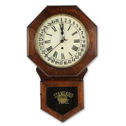 """Pequegnat """"Brandon"""" Wall Clock"""