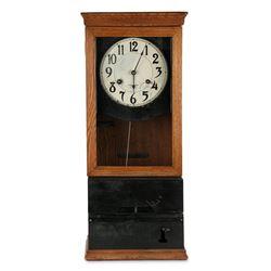 International Wall Punch Clock