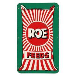 Roe Feeds Tin Sign