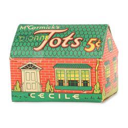 McCormick's Dionne Quints Candy Box