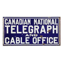 National Telegraph & Cable Office Sign