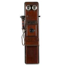 Early Western Electric 3-Box Bell System Telephone