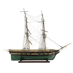 "Scale Model Ship ""Grand Turk Salem"""