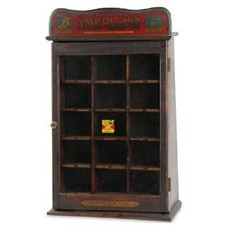 Ampollina Dyes Store Display Cabinet