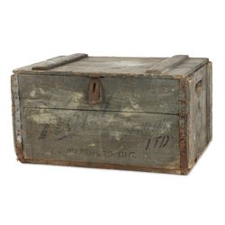 Early Kuntz Brewery Shipping Crate