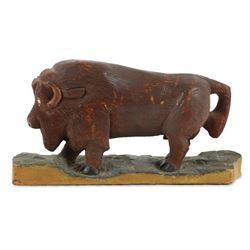 McNiven Owen Sound Folk Art Buffalo Carving
