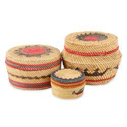 Native Canadian Baskets, Makah Nootka