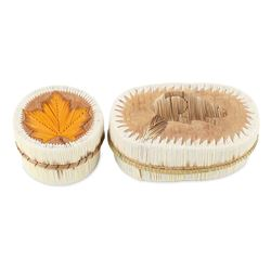 Native Canadian Trinket Boxes