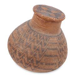 Imposing Native American Indian Basket
