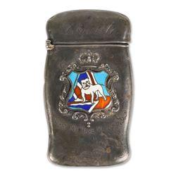 WW1-inspired Sterling Silver Match Safe