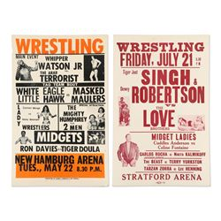 Ontario Wrestling Event Posters
