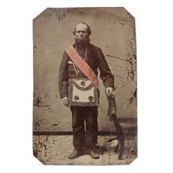 Tintype Photograph, Masonic