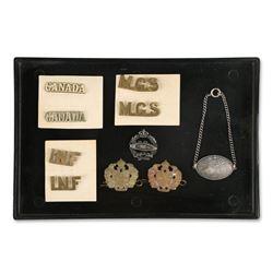 Canadian WWI War Badges
