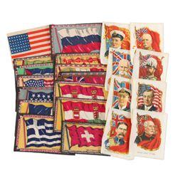 Patriotic WWI Era Fabric Patches