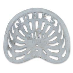 """""""Jones Rake"""" Plow Cast Tractor Seat"""