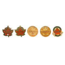 Supertest Gold Service Pins