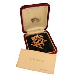 Jeweller's Brooch & Documents, New Hamburg