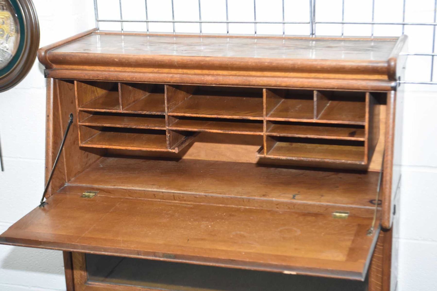 Quarter Cut Oak Stacking Macey Barrister Book Cabinet