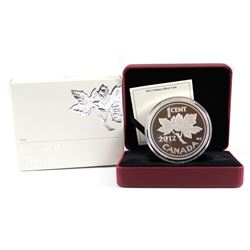 2012 Canada 1-cent Farewell to the Penny 5oz. Fine Silver (Tax Exempt). Please note capsule is scrat