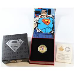 2013 Canada $75 Superman: The Early Years 14K Gold Coin (logo on Box is scuffed)