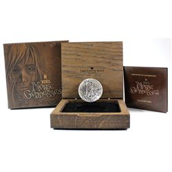 2017 Tuvalu $2 Norse Goddesses - Hel 2oz Antique Finish High Relief Fine Silver Coin (TAX Exempt)