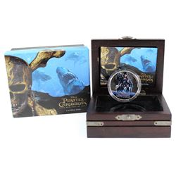 2017 Niue $2 Disney - Pirates of the Caribbean Silver Proof (Tax Exempt)