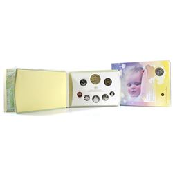 2006 Canada Baby Lullabies Loonie Silver Dollar with Music CD & 2006 Canada Baby Sterling Silver Pro
