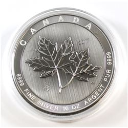 2017 Canada $50 Magnificent Maple Leaves 10oz Fine Silver Coin (TAX Exempt)