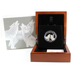2017 Canada $20 Master of the Land - The Timber Wolf Fine Silver Coin (TAX Exempt)