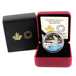 2017 Canada $20 Glistening North - Arctic Tern Fine Silver Coin (TAX Exempt)