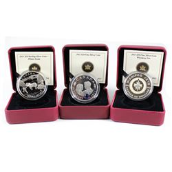 Lot of 3x 2011 Canada $20 Fine Silver Coins. You will receive Winter Scene, The Wedding Celebration: