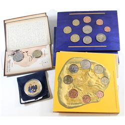 Estate Lot of World Coins. You will receive a 2008 Cyprus 8-coin Set, 2007 Ireland 9-coin 50th Anniv