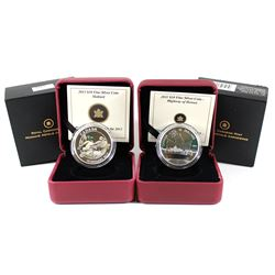 2011 Canada $10 Highway of Heroes & 2013 Canada $10 Mallard Fine Silver Coins (Tax Exempt) 2pcs.