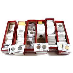 Estate Lot of Mixed World Coins and Tokens. You will receive a Variety of Countries and Tokens in 2x