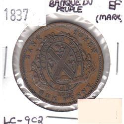 1837 LC-9C2 Token Extra Fine (Mark)